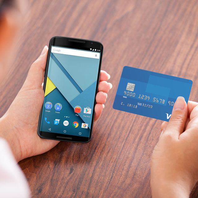 android pay how to delete card