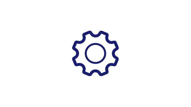 An illustration of a gear.