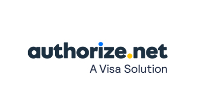 Authorize.Net logo.
