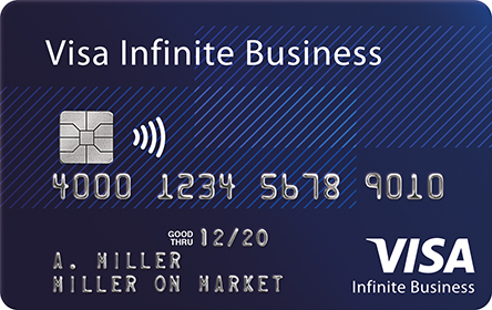 La carte Visa Infinite Affaires