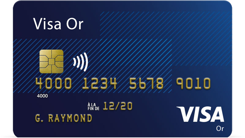 Carte Visa Or