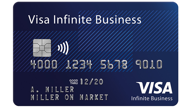 Visa Infinite Business Card