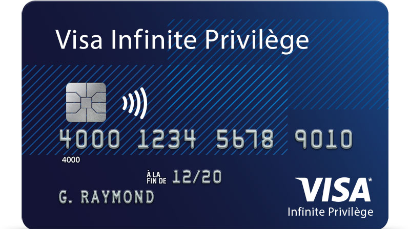 Carte Visa Infinite Privilege