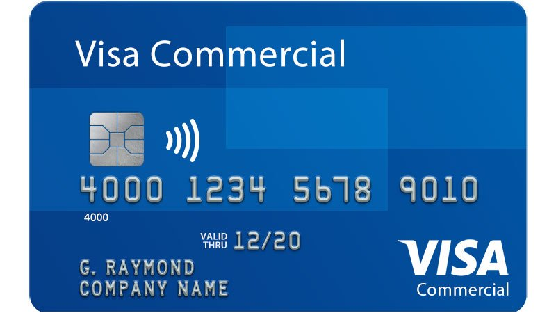 Visa Commercial card