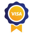 Visa ribbon icon